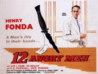 12 Angry Men Poster by Unknown for $26.25 CAD
