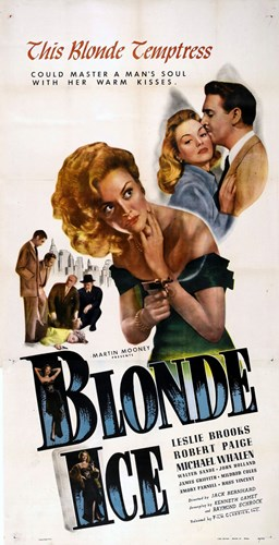 Blonde Ice Poster by Unknown for $26.25 CAD