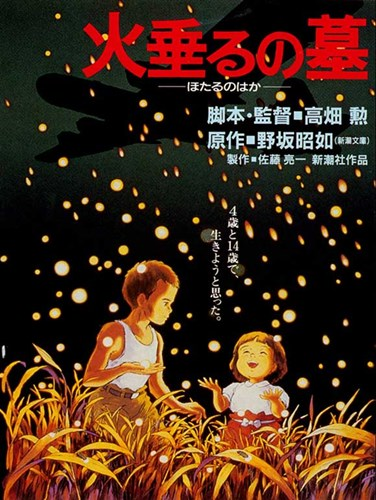 Grave of the Fireflies (Tombstone for Fireflies) Poster by Unknown for $26.25 CAD