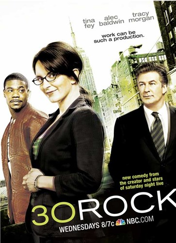 30 Rock - Style D Poster by Unknown for $26.25 CAD