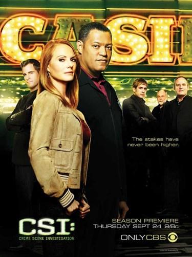 CSI: Crime Scene Investigation Poster by Unknown for $26.25 CAD