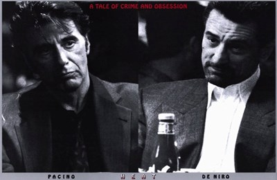 Heat Pacino De Niro Poster by Unknown for $26.25 CAD