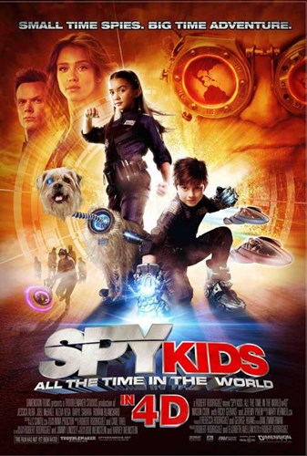 Spy Kids 4: All the Time in the World Poster by Unknown for $26.25 CAD