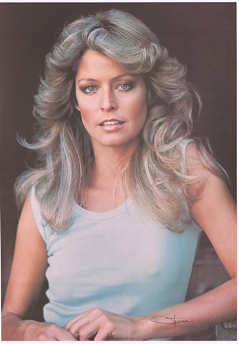 Farrah Fawcett - style C Poster by Unknown for $26.25 CAD