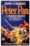 Peter Pan by James M. Barrie (book cover)