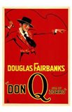 Don Q Son of Zorro Red With Douglas Fairbanks
