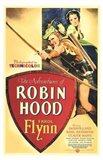 The Adventures of Robin Hood Shooting Arrow
