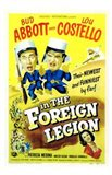 Abbott and Costello in the Foreign Legion, c.1950