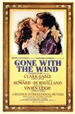 Gone with the Wind Framed Kissing Movie Advetisement