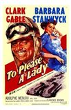 to Please a Lady (movie poster)