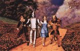 The Wizard of Oz - Skipping on Yellow Brick Road
