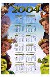 Shrek 2 Calendar 2004