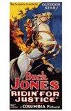 Ridin' for Justice Cowboy Horseback