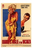 The Seven Year Itch Yellow Towel