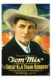 Great K a Train Robbery With Tom Mix