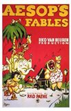 Aesop's Fables - red