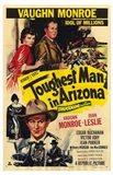 The Toughest Man in Arizona (vintage movie poster)
