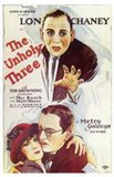The Unholy Three (movie poster)