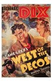 West of the Pecos movie cover