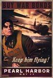 Pearl Harbor Art Deco Buy War Bonds
