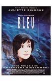 Trois Couleurs: Bleu French Film Poster