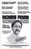 Richard Pryor in Concert Black and White