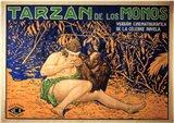 Tarzan of the Apes, c.1917 (Spanish) - style A