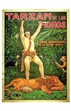 Tarzan of the Apes, c.1917 (Spanish) - style B
