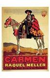 Carmen - on a horse