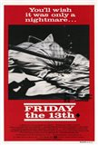Friday the 13th Black & Red