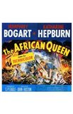 The African Queen Humphrey Bogart & Audrey Hepburn