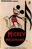 Mickey Mouse - music note