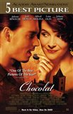 Chocolat - couple eating chocolate