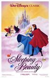Sleeping Beauty Dancing on Clouds with Prince Charming