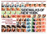 Sidewalks of New York Collage