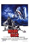 Moby Dick - whale in the background