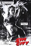 Sin City Jessica Alba as Nancy B&W