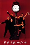 Friends (TV) Clock Red