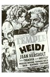 Heidi Black And White Film Poster