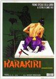 Harakiri Film Poster Italian