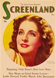 Norma Shearer On Screenland
