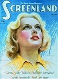 Carole Lombard Screenland