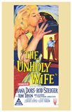The Unholy Wife (movie poster)