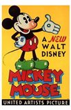 A New Walt Disney Mickey Mouse in Yellow