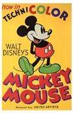 Walt Disney's Mickey Mouse Poster