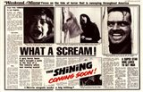 The Shining - news paper