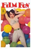 Film Fun Balloons Pin Up Girl