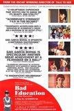 Bad Education Movie Poster Spanish English