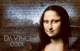 The Da Vinci Code Mona Lisa Blue Background