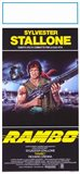 Rambo: First Blood Stallone with Automatic Rifle